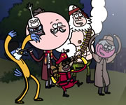 Regular Show High Flying Halloween