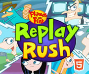 Phineas And Ferb Replay Rush