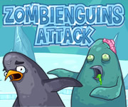 Play Zombieguins Attack